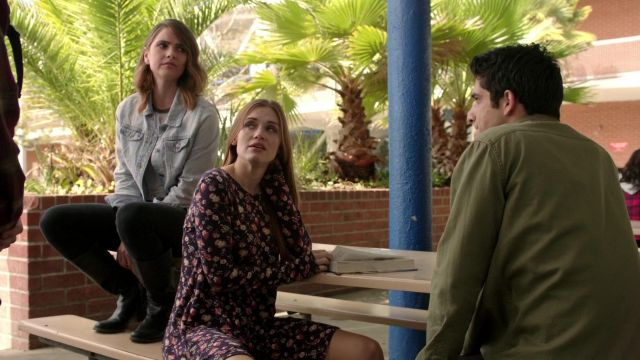 The floral dress Lush Lydia Martin (Holland Roden) in Teen Wolf S06E01