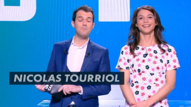The floral dress from Marina Lorenzo in D+1 of the 18/03/2018