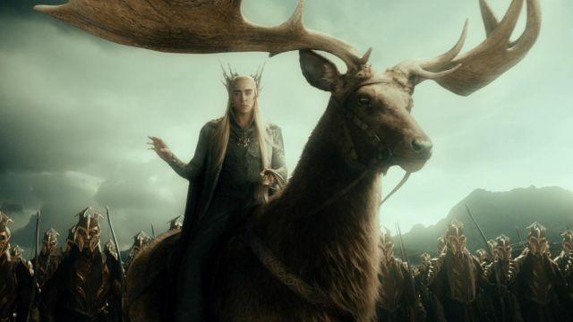 Le costume complet de Thranduil (Lee Pace) dans Le Hobbit : Un voyage inattendu