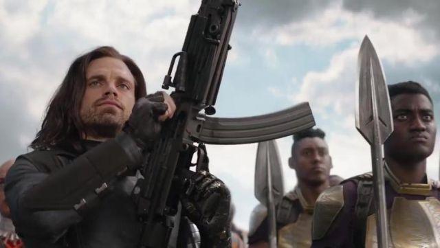 The jacket Bucky Barnes (Sebastian Stan) in Avengers : Infinity War