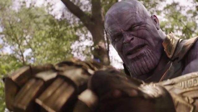 Thanos' (Josh Brolin) latex mask as seen in Avengers: Infinity War