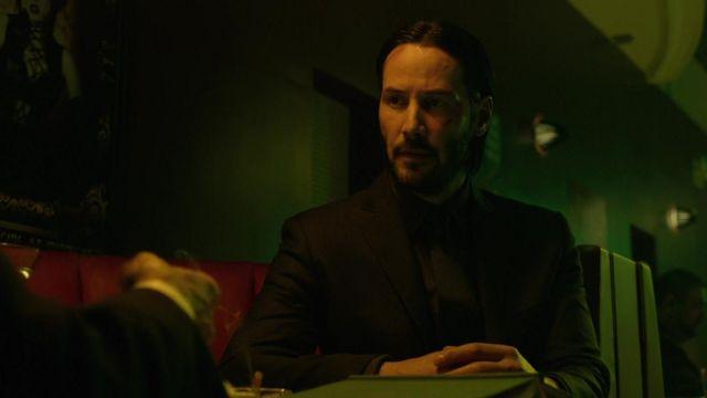 The blue shirt the night of John Wick (Keanu Reeves) in John Wick