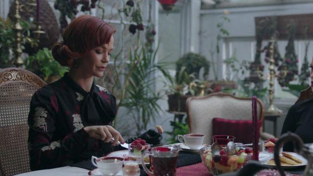 The dress, The Kooples Penelope Blossom (Nathalie Boltt) in Riverdale S02E16