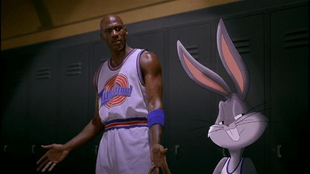 The jersey basketball Tune Squad Michael Jordan Space Jam | Spotern