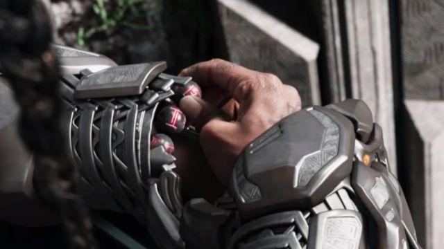 Shuri's (Letitia Wright) Kimoyo beads bracelet as seen in Black Panther