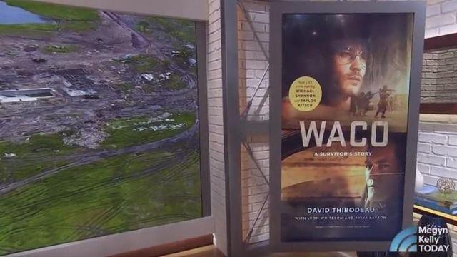 """Le livre """"Waco: A Survivor's Story"""" que présente Megyn Kelly dans Today NBC"""