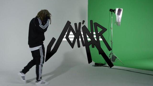 Les Chaussures Adidas Superstar Jok'air Dans Survet De Mon Clip Son PTOXuikZ