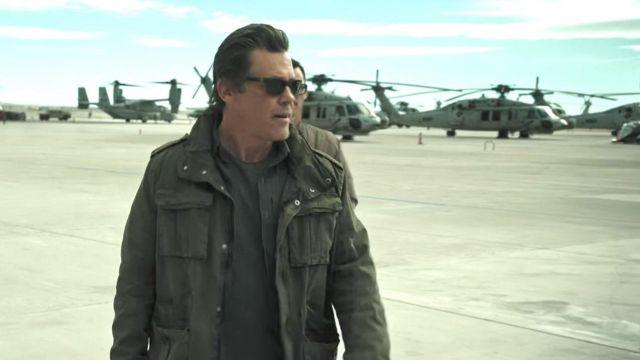 Green Tactical Shirt worn by Matt Burn (Josh Brolin) as seen in Sicario 2: Day of the Soldado