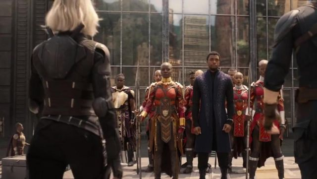 Black Widow's (Scarlett Johansson) black batons replica as seen in Avengers: Infinity War