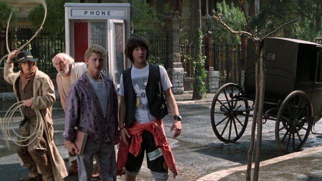 Van Halen Tee Shirt worn by Ted Logan (Keanu Reeves) as seen in Bill & Ted's Excellent Adventure