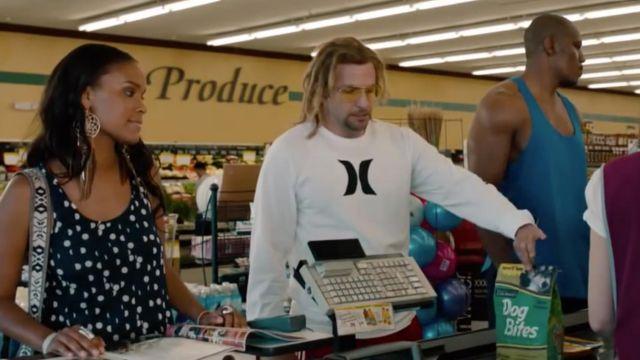 Le t-shirt manches longues Hurley d'Alex Dimitri (Bradley Cooper) dans Hit and Run