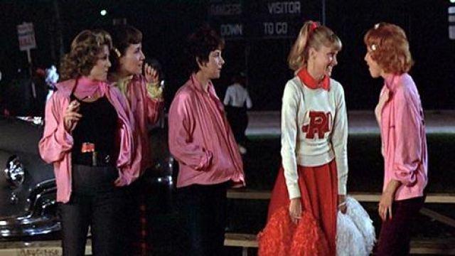 Le blouson rose des Pink Ladies dans Grease