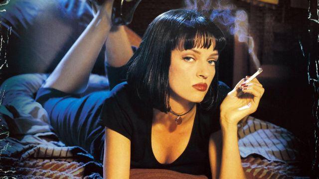 Le collier de Mia Wallace (Uma Thurman) dans Pulp Fiction