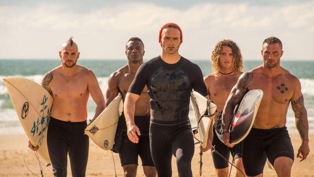 La combinaison de surf de Gregor d'Hossegor dans Brice 3