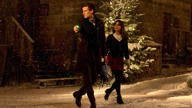 "La jupe ""tartan écossais"" de Clara Oswald (Jenna Colema) dans Doctor Who"