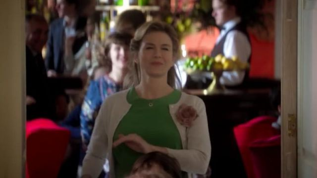 Cardigan beige Bridget Jones (Renée Zellweger) in Bridget Jones 3