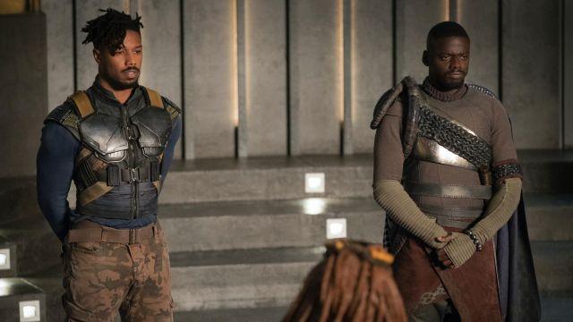 Costume vest worn by Erik Killmonger (Michael B. Jordan) as seen in Black Panther