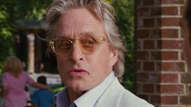 Les lunettes de vue Barton Perreira de Gordon Gekko (Michael Douglas) dans Wall Street : l'argent ne dort jamais