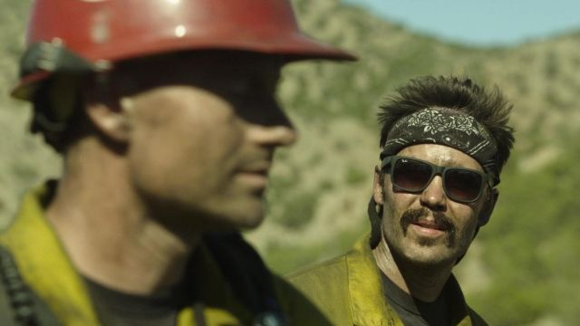 Sunglasses Ray-Ban Chris MacKenzie (Taylor Kitsch) in Only the Brave