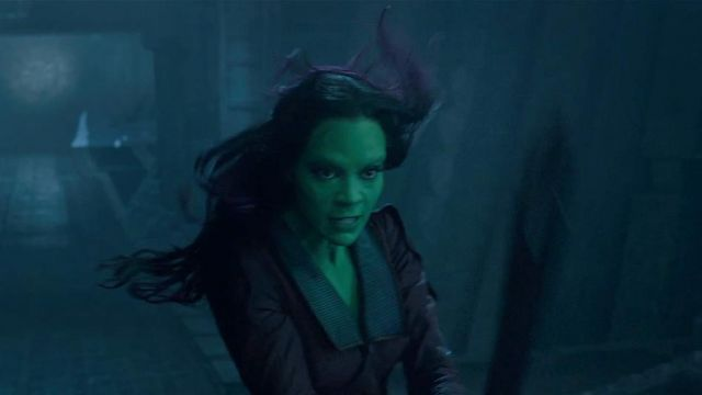 Sword replica worn by Gamora (Zoe Saldana) as seen in Guardians of The Galaxy
