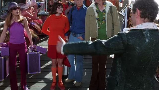 The suit of Vera Dinkley (Linda Cardellini) in the movie Scooby-Doo