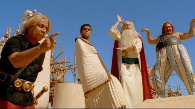 Le costume de Panoramix (Claude Rich) dans le film Astérix et Obélix : Mission Cléopâtre