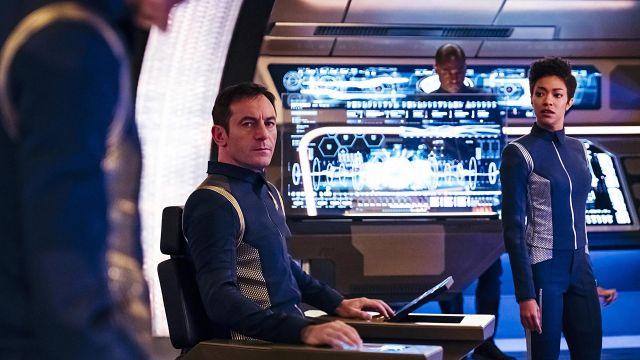 StarFleet Uniform worn by First Officer Michael Burnham (Sonequa Martin-Green) as seen in Star Trek: Discovery S01E06
