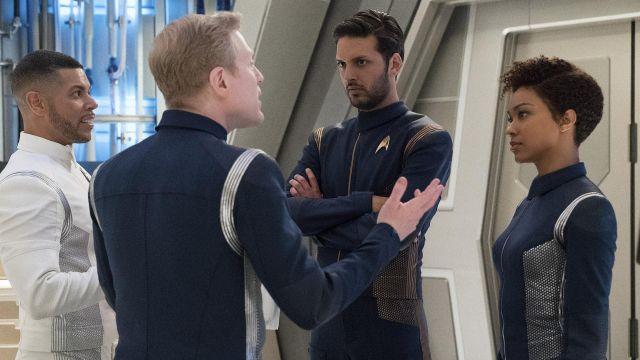 Starfleet Blue Uniform worn by Ash Tyler (Shazad Latif) as seen in Star Trek: Discovery S01E10