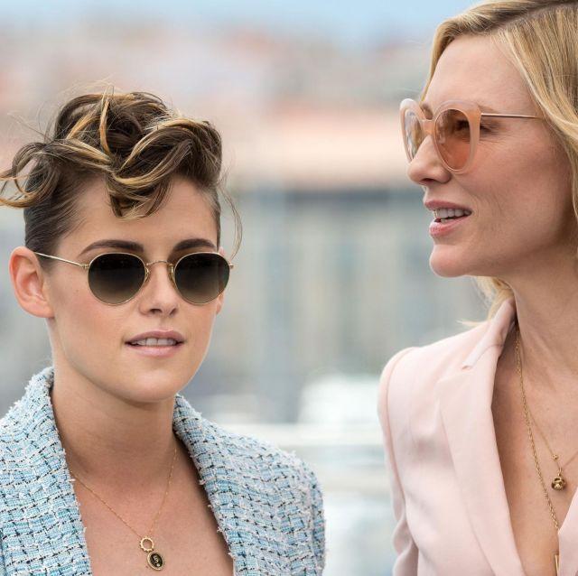 Les lunettes de soleil portés par Kristen Stewart durant Le Festival de Cannes 2018
