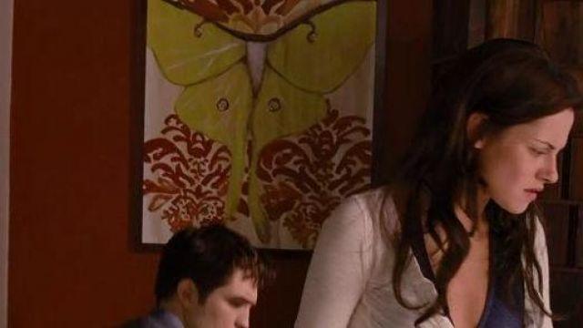 Le tableau Luna Moth de Ashley Longshore dans Twilight: Chapitre 5 - Révélation, 2e partie