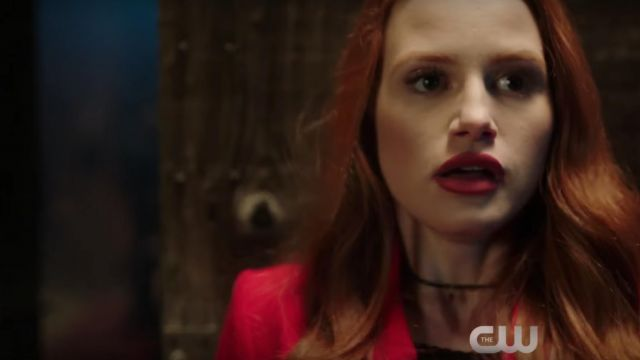 The Red Coat Zara Of Cheryl Blossom Madelaine Petsch In
