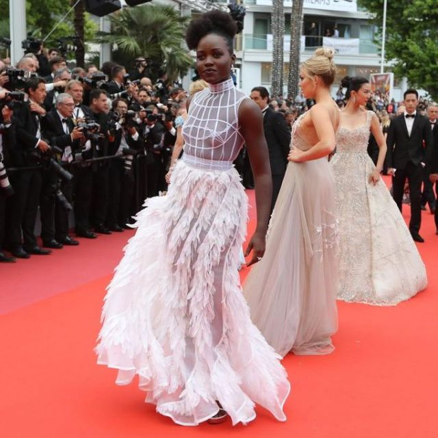 The White Dress From Dior Lupita Nyong O At