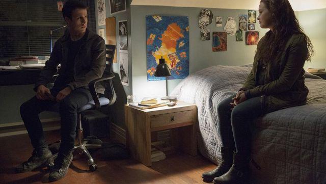 Boots Frye Hannah Baker (Katherine Langford) in 13 Reasons Why season 2