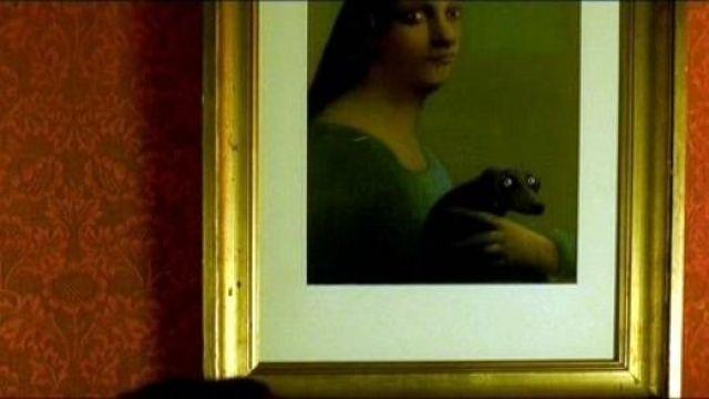 Le tableau Herbert de Michael Sowa chez Amélie Poulain (Audrey Tautou) dans Le fabuleux destin d'Amélie Poulain