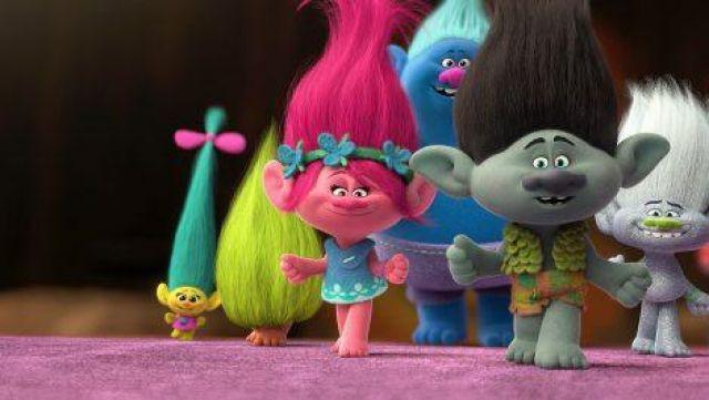 Le costume de Poppy dans le film d'animation Troll