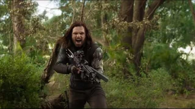 The White Wolf Jacket worn by Bucky Barnes aka the Winter Soldier (Sebastian Stan) as seen in Avengers : Infinity War