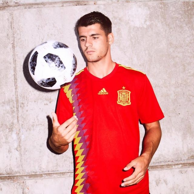 outlet store 65557 cae55 The jersey Adidas official Team Spain for the World Cup 2018 ...