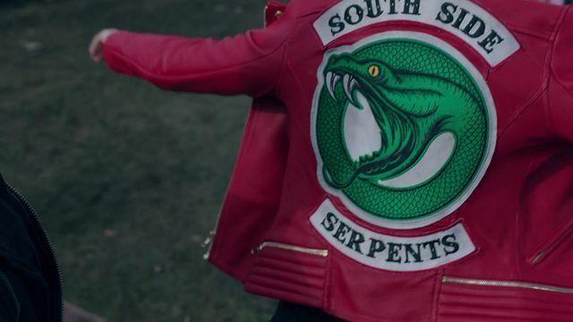 RIVERDALE SERPENT SOUTHSIDE Serpents Déguisement Rouge Veste