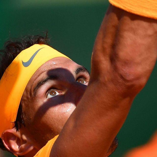 The Headband Nike Orange Rafael Nadal On The Account Instagram Of Roland Garros Spotern