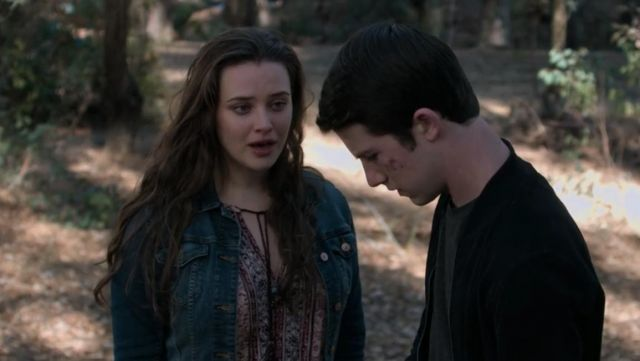 Lucky Brand Print Top worn by Hannah Baker (Katherine Langford) in 13 Reasons Why S02E11