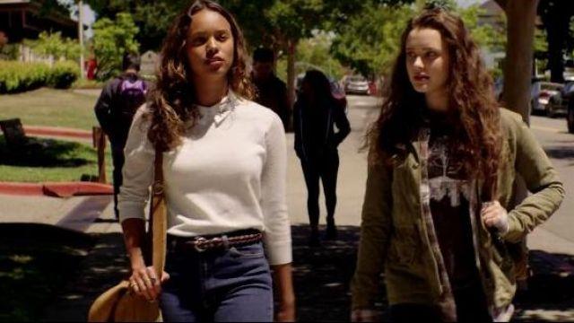 Le sac à bandoulière de Jessica Davis (Alisha Boe) dans 13 Reasons Why S01E02
