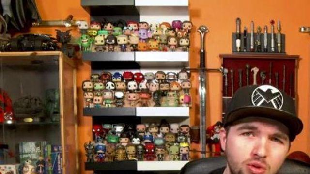 La figurine Funko POP! Tortue Ninja - Ninja Turtle (Donatello) dans la vidéo YouTube Polisse - 50/50 de LinksTheSun