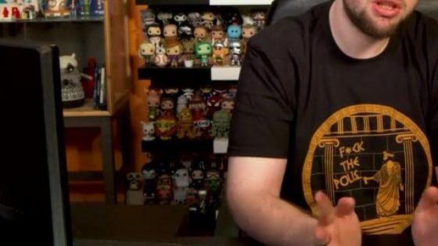 La figurine Funko POP! Cthulhu dans la vidéo YouTube Polisse - 50/50 de LinksTheSun