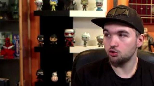 La figurine Funko POP! Rick (Rick et Morty) dans la vidéo YouTube Chansons françaises : le moment où ça a merdé de LinksTheSun