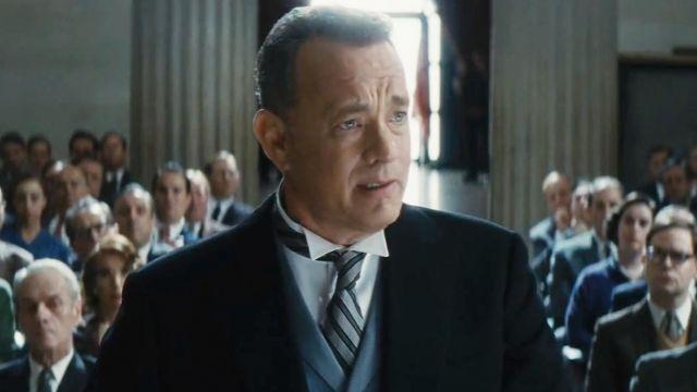 The Tie Of James Donovan Tom Hanks In The Bridge Of Spies