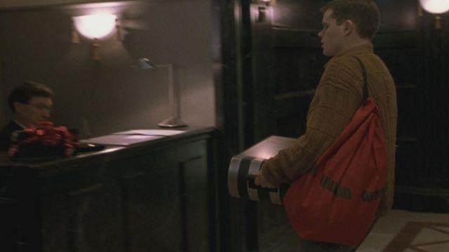 The bag bank of Jason Bourne (Matt Damon) in The Memory in the Skin