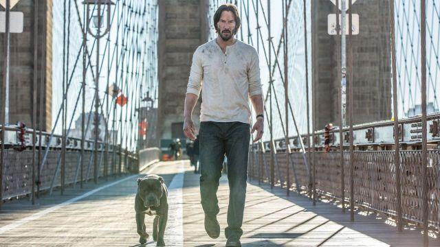 The john of John Wick (Keanu Reeves) in John Wick Chapter 2