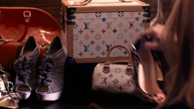 The handbag Louis Vuitton mini speedy in The Bling Ring