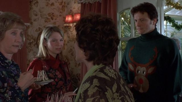 Le pull rennes de Noël porté par Mark Darcy (Colin Firth) dans Le Journal de Bridget Jones