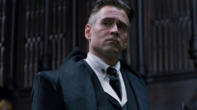 The tie of Percival Graves (Colin Farrell) in Fantastic Animals